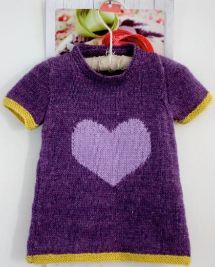 little heart dress