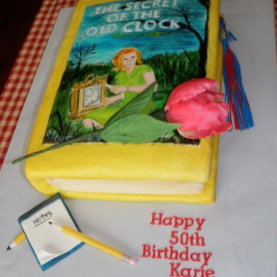 nancy drew cake