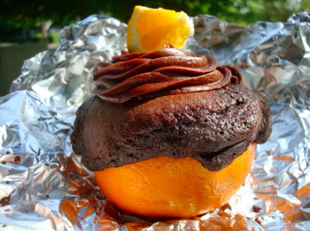 grilled oranges
