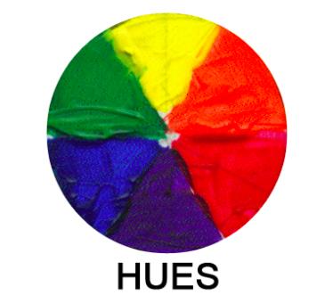 hues color wheel - on Bluprint