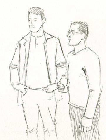 dudes sketch