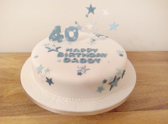 fourtieth cake