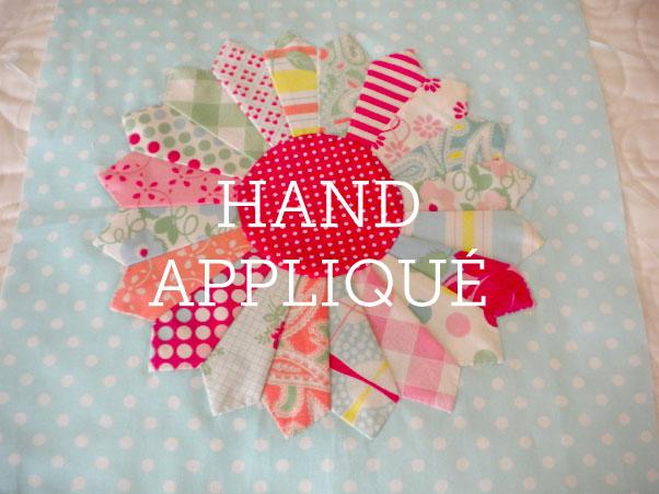 Hand Applique Quilt Block - How to Hand Applique