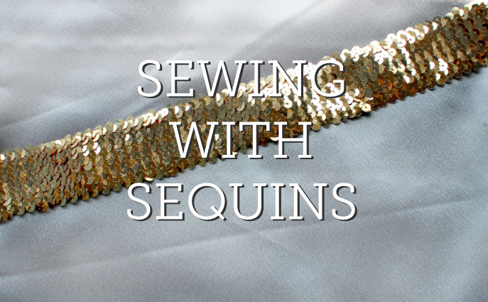 sewing with sequins