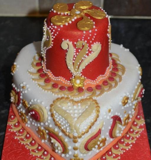 exotic anniversary cake