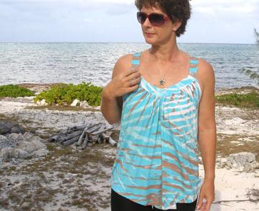 free summer drape top pattern
