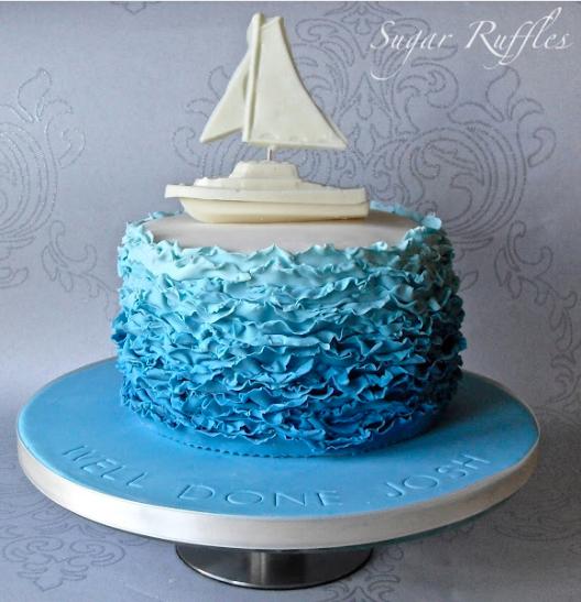 sugar ruffles boat