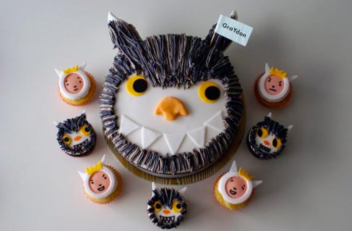 wild things cupcakes