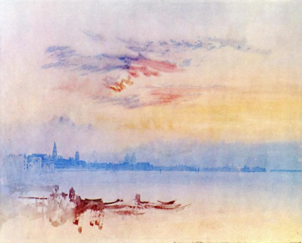 Turner: Venice Looking East from the Guidecca