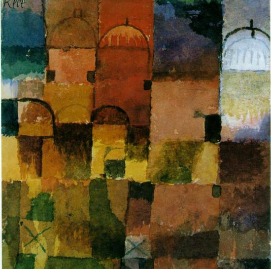 Paul Klee: Red and White Domes