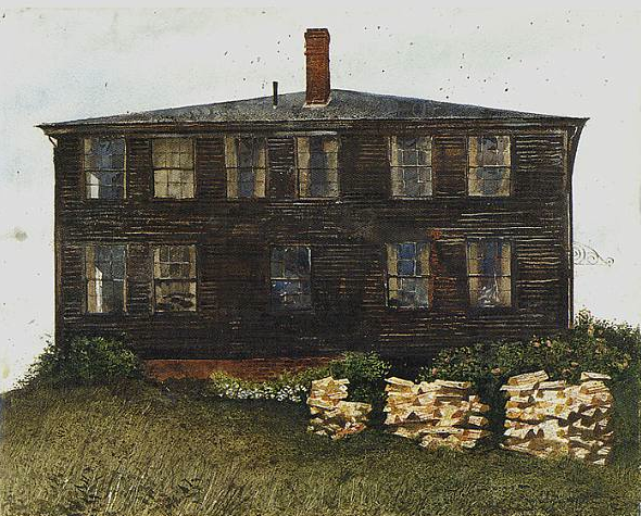 slayton house, by Jaime Wyeth