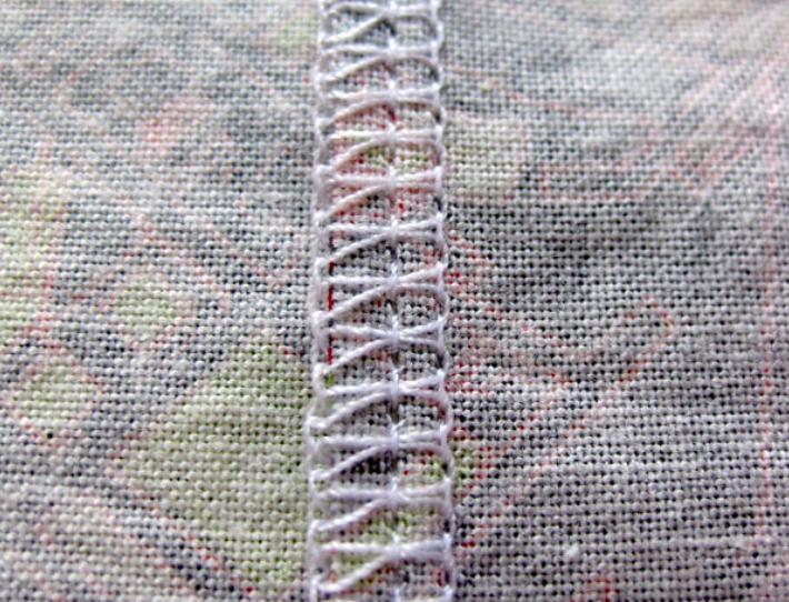 regular stitch