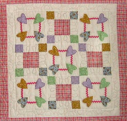 baby charm quilt on Bluprint