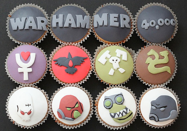 warhammer cupcakes