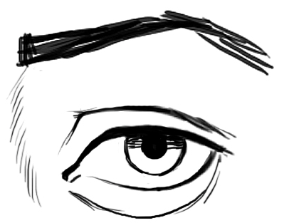 sketch eye