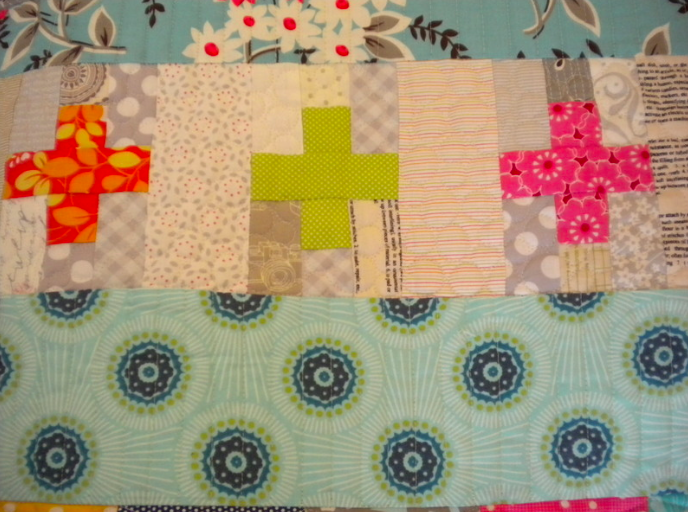 quilting with low volume fabrics