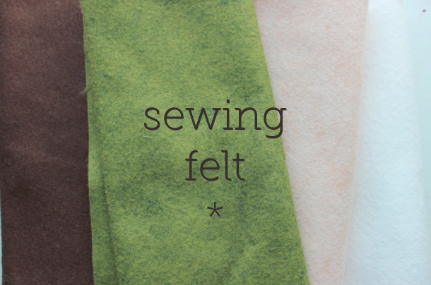 Sewing Felt - Collection of Felts