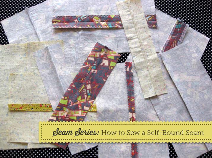 Seam Series: How to Sew a Self-Bound Seam Tutorial