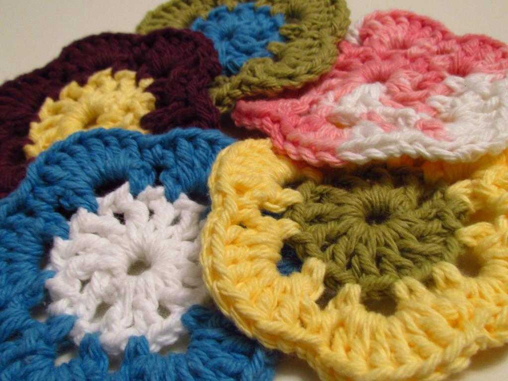 Cotton Coasters free crochet pattern