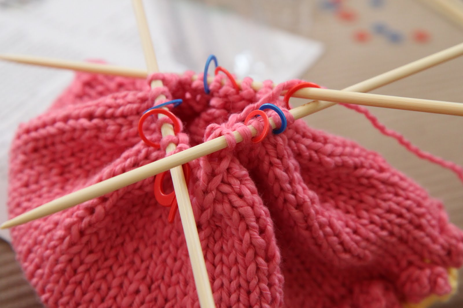A Bluprint DPN (Double Pointed Needle) Knitting Tutorial