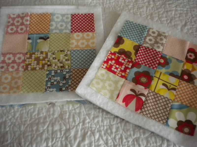 Patchwork Pot Holders