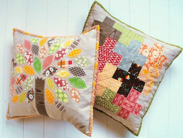 Quilted Linen Pillow