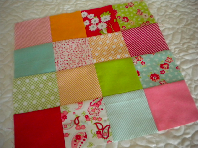 Checkered Quilt Block