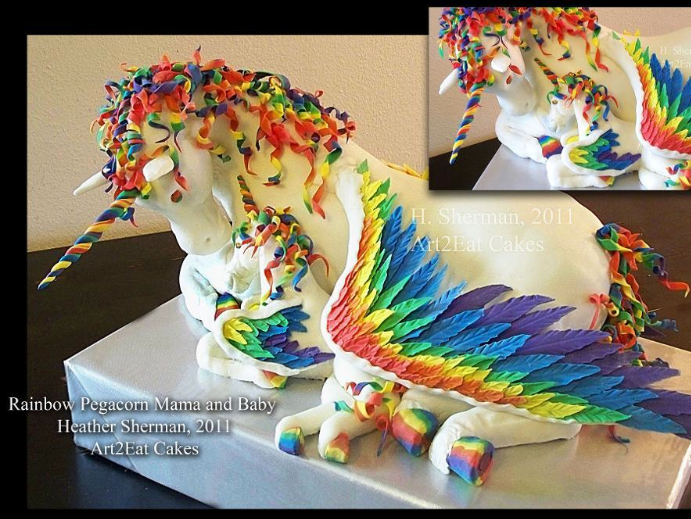 amazing unicorn cake