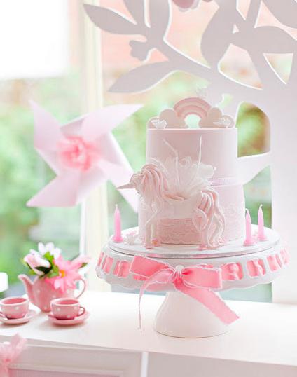 sophisticated unicorn cake