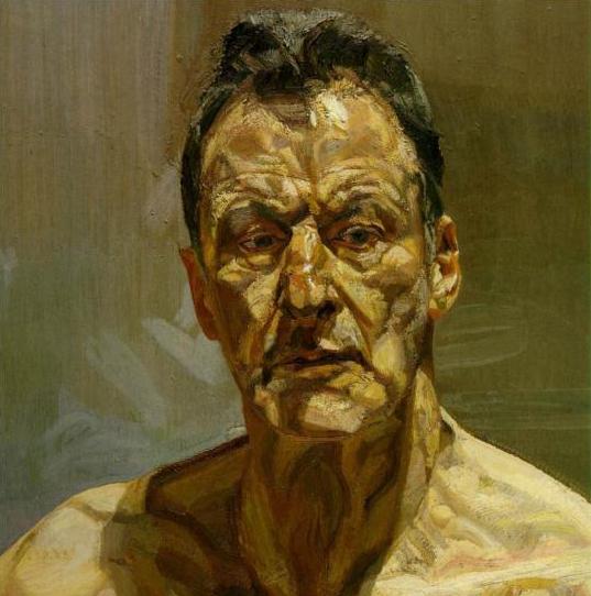 Impasto Painting of Man