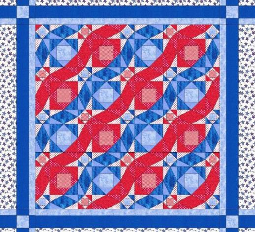 flag quilt