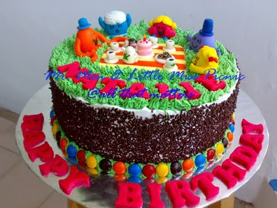 Happy Birthday Picnic Cake