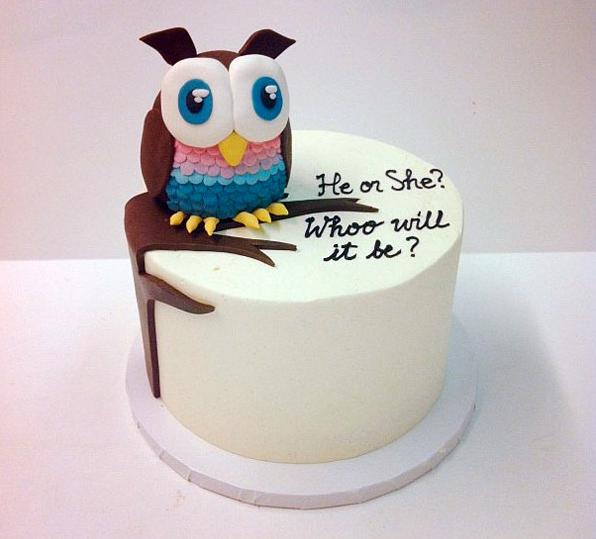 gender baby cake