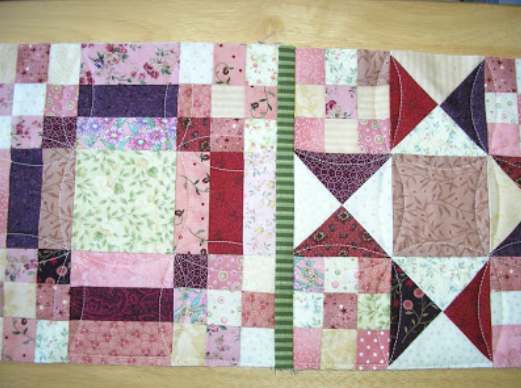 Patchwork Mini Quilt