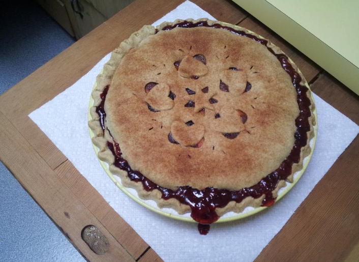 quilted pie