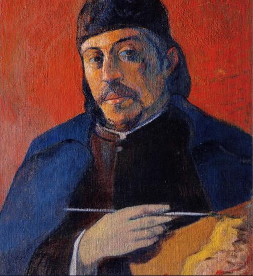 Degas' Self-Portrait