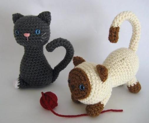 Free Kitten Crochet Pattern