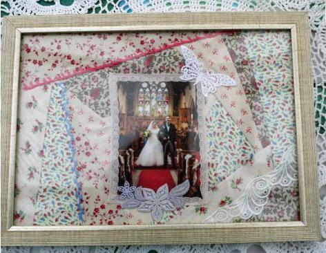 DIY Wedding Frame