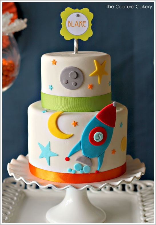 Space Themed Cake