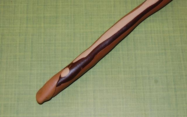 Wood-Grain Fondant
