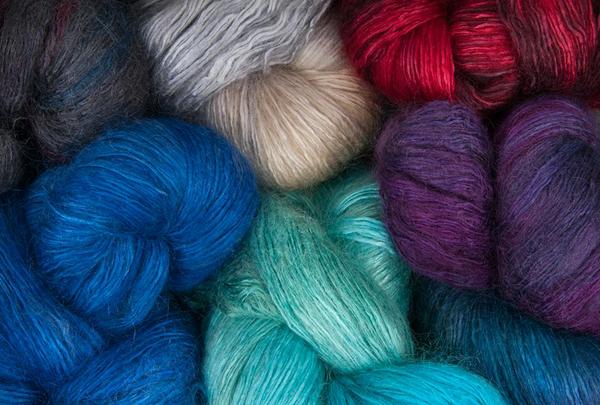 Various Hues of Fine Yarn