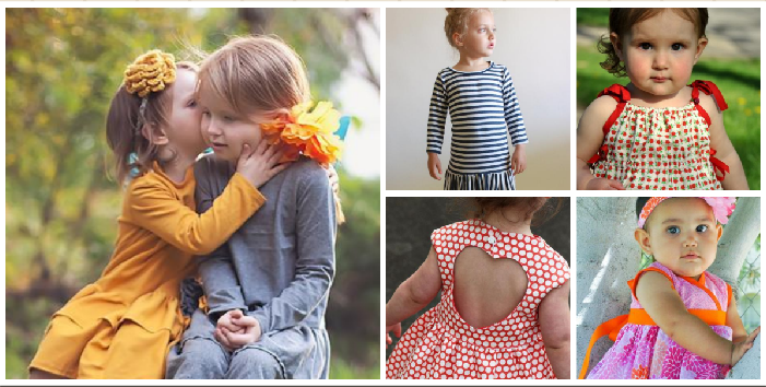 Little Girls Dress Patterns, on www.craftsy.com