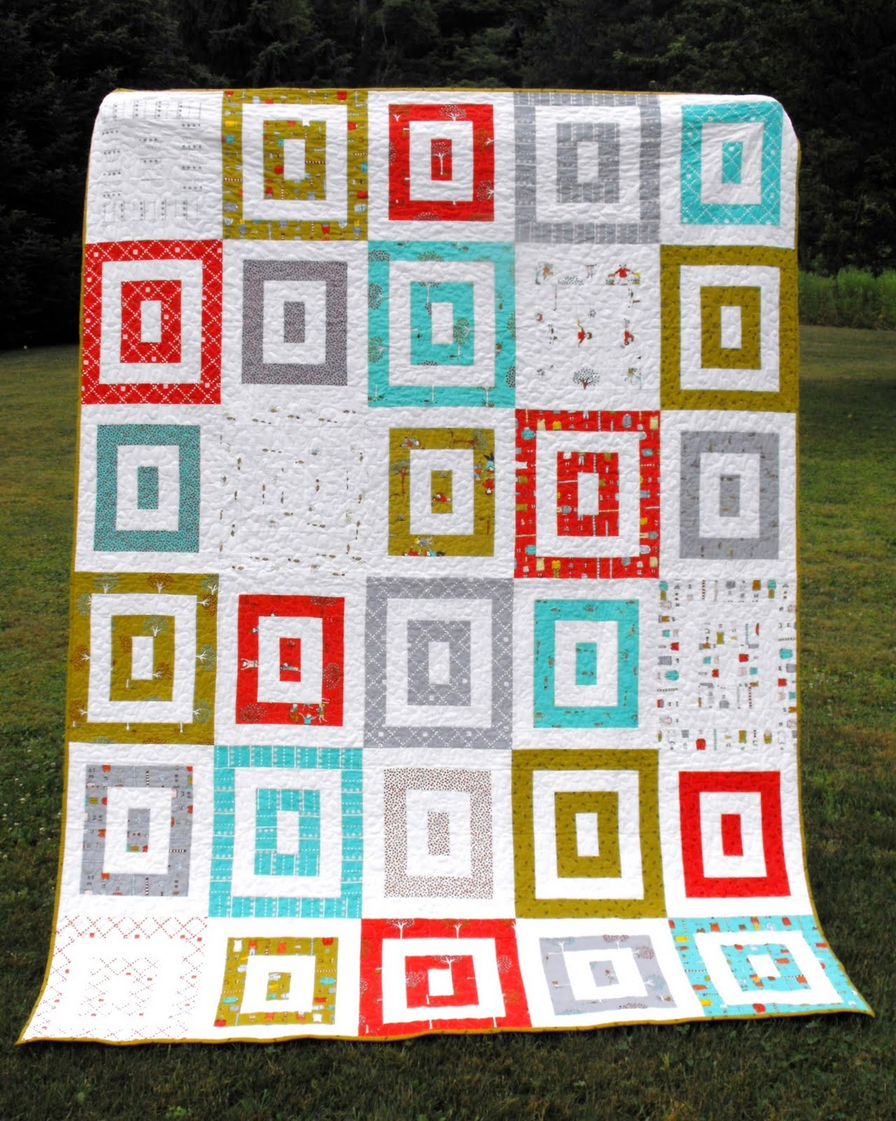 Apple Crate Quilt