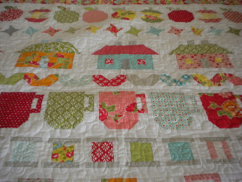 Be in My Bonnet Row Quilt