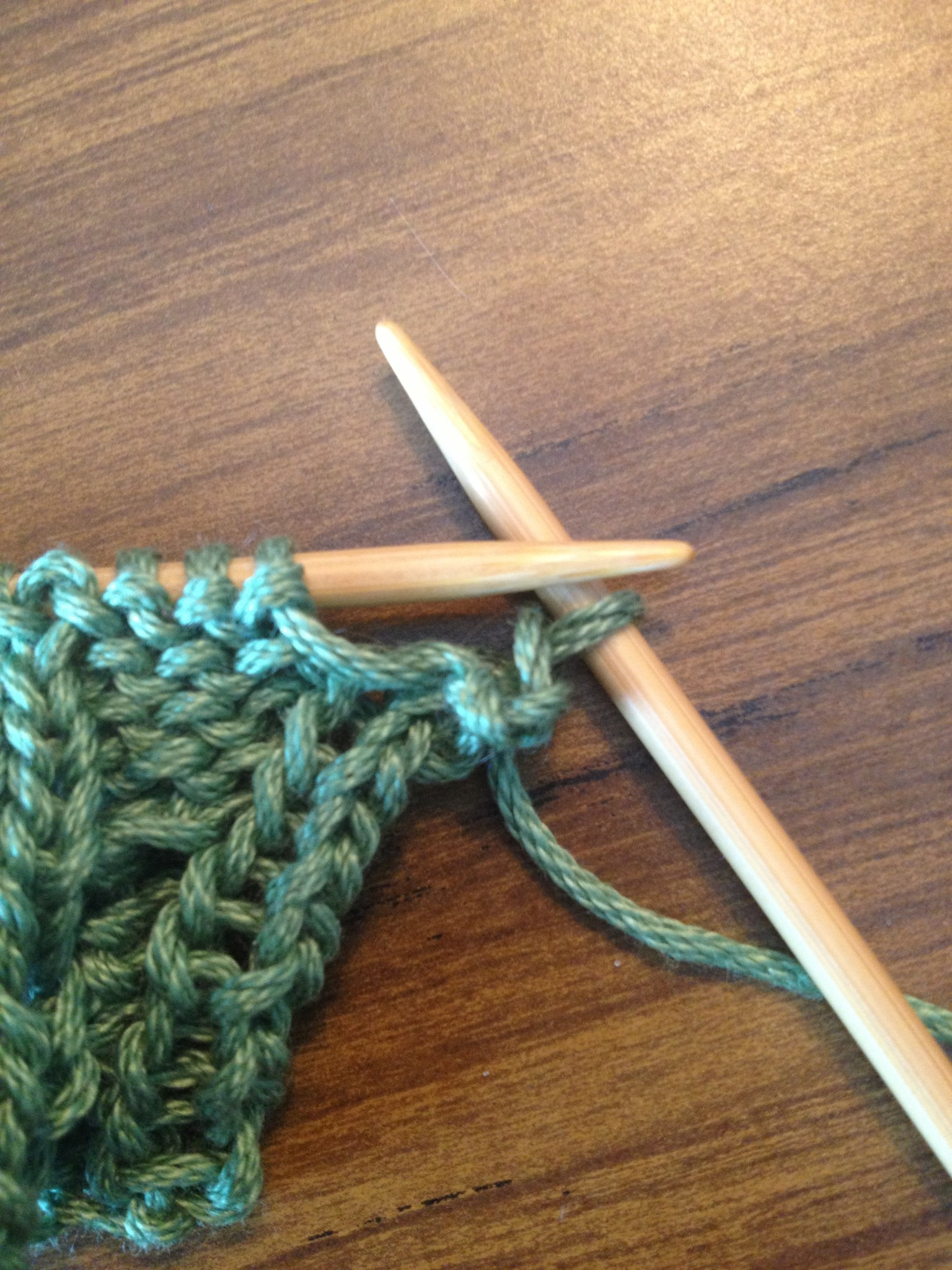 Cast Off Knitting
