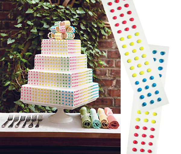 Dot Candy Cake