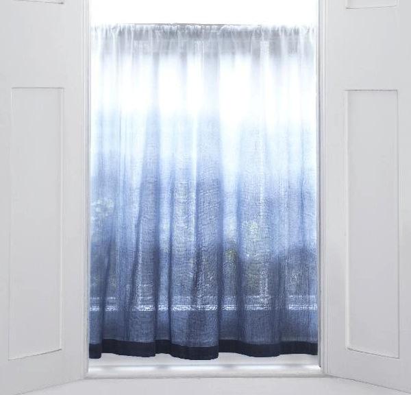 Ombré Drapes in Window