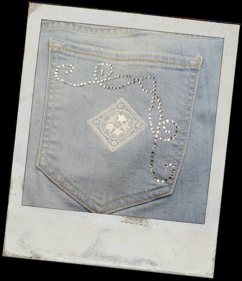 Embroidered Pocket