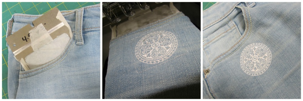Embroidered Pockets