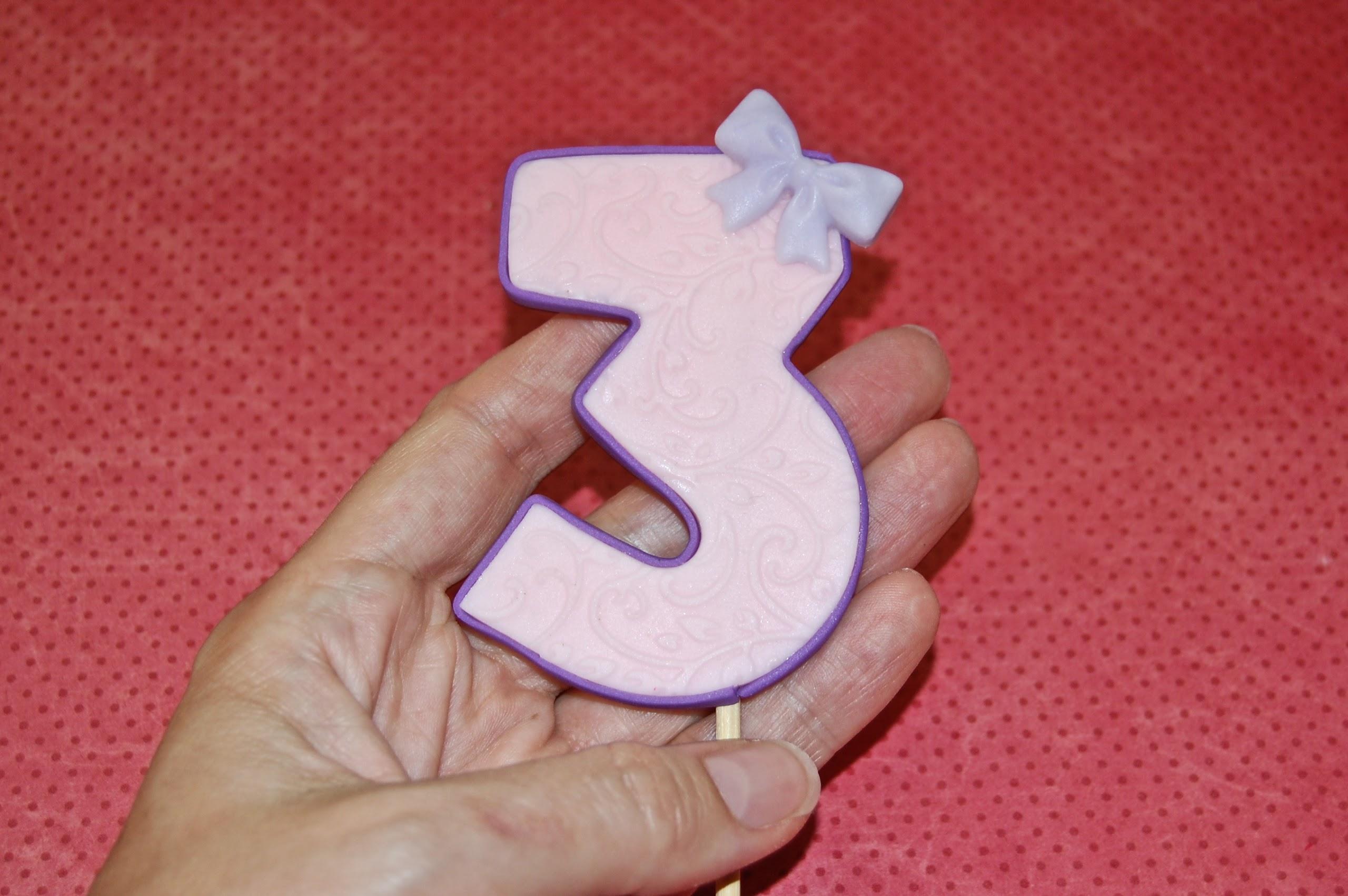 Fondant Number